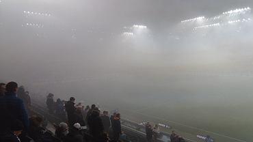 Przerwany mecz na stadionie Legii. Zbigniew Boniek wbija szpilę kibicom