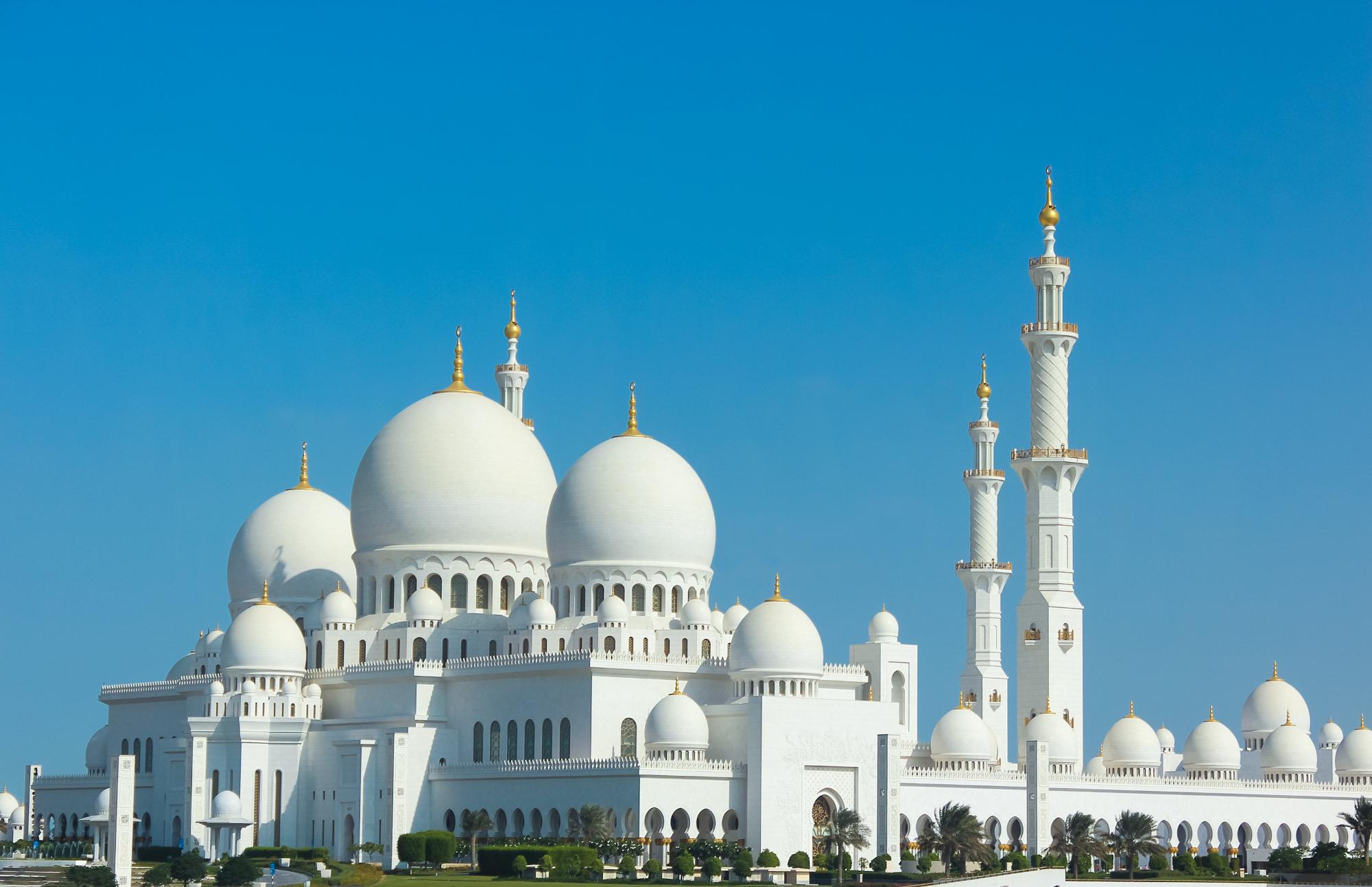 Meczet Szejka Zayeda w Abu Zabi (fot. shutterstock.com)