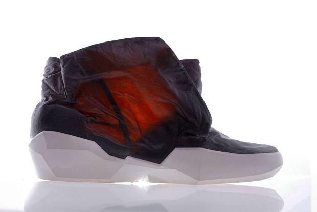 Buty z transparentnej skóry Ecoo Apparition