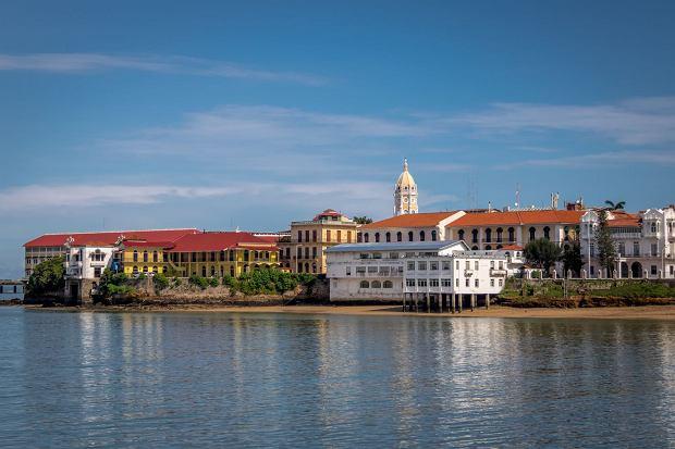 Widok na Casco Viejo, starówkę Panamy