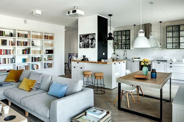 dodatki, mieszkanie, styl skandynawski, salon