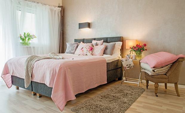 dodatki, sypialnia, mieszkanie, wnętrza, meble