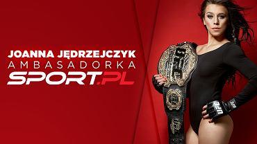 Mistrzyni świata Joanna Jędrzejczyk w drużynie Sport.pl!