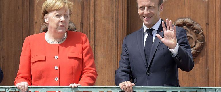 """Angela Merkel i Emmanuel Macron są """"na tak"""". Będzie wspólny budżet strefy euro"""
