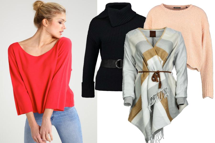 Swetry - duży brzuch / kolaż redakcja, materiały partnerów