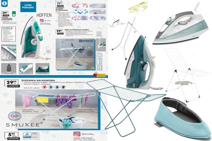 Sprzęty i akcesoria do prania i prasowania