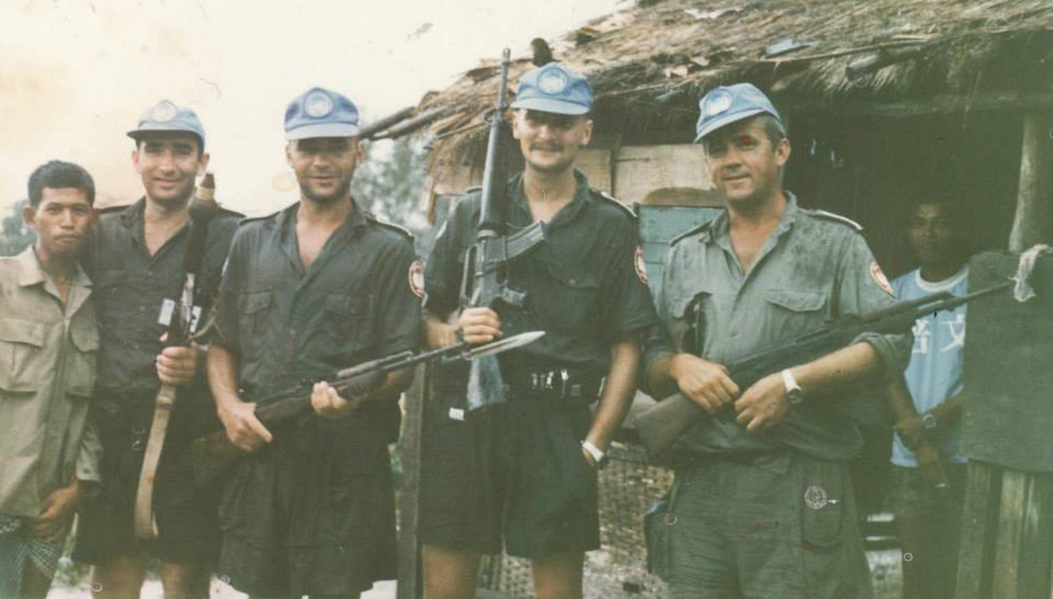 Polscy żołnierze w Kambodży