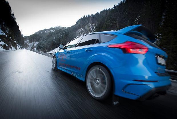 Ford Focus RS pracuje jako taksówka