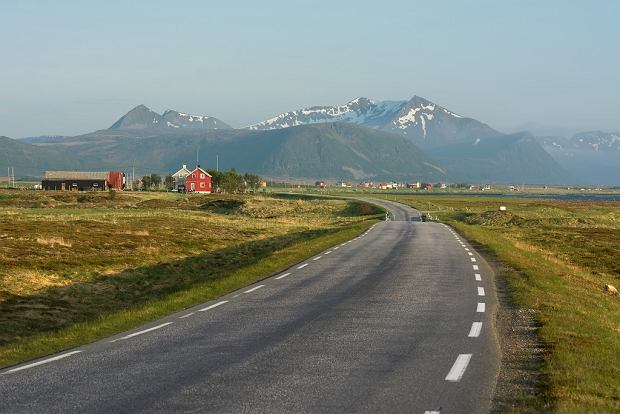 Panorama na trasie turystycznej Andoya