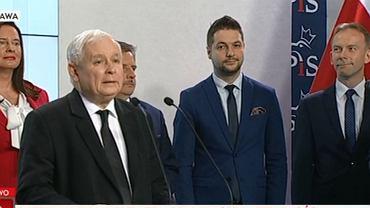 Jarosław Kaczyński ogłosił kandydatów na prezydentów miast. Kogo PiS wystawia w wyborach?