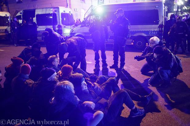 12.12.2017 Warszawa , Sejm . Protest Koalicji Prodemokratycznej