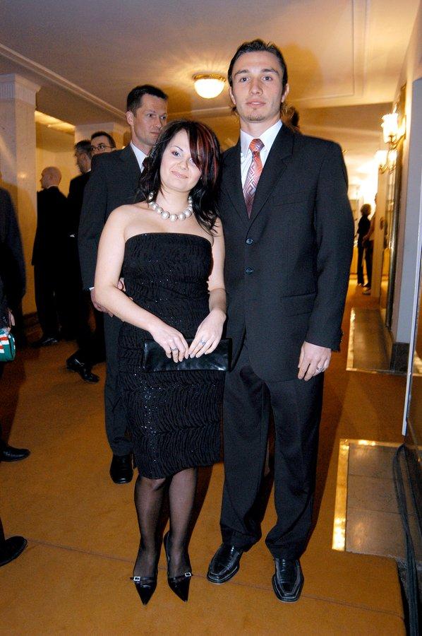 Kamila Saganowska, Marek w Saganowski w 2004 roku