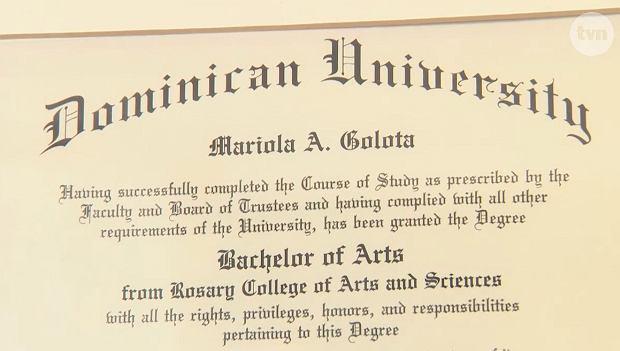 dyplom Marioli Gołoty