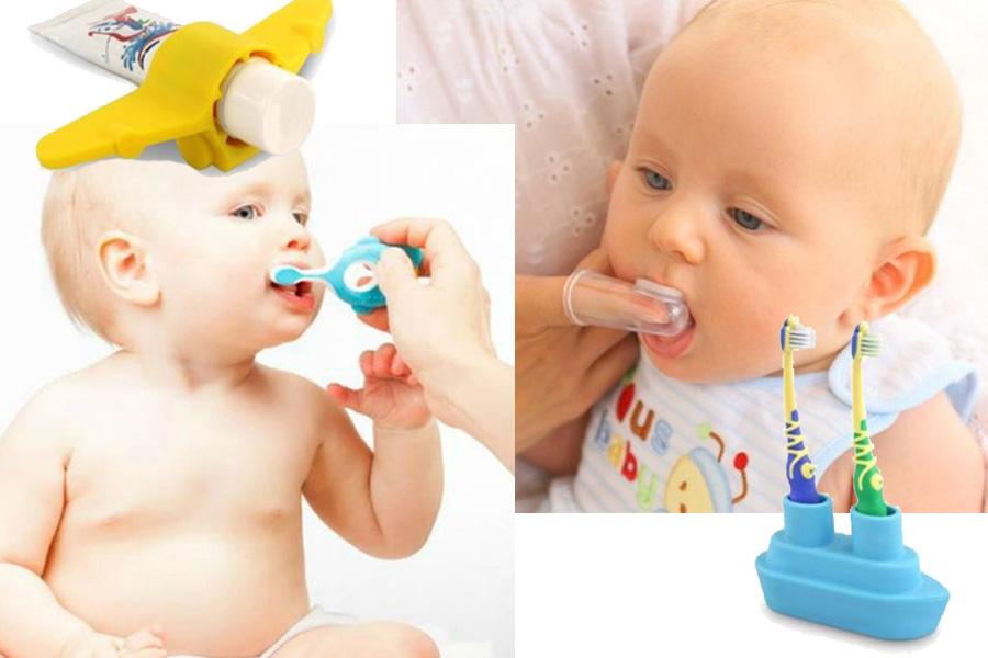 Jak dbać o pierwsze ząbki?