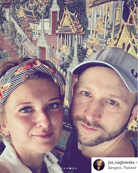 Borys Szyc i Justyna Nagłowska na wakacjach w Tajlandii