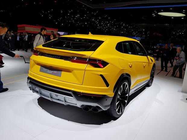 Stoisko Lamborghini w Genewie 2018