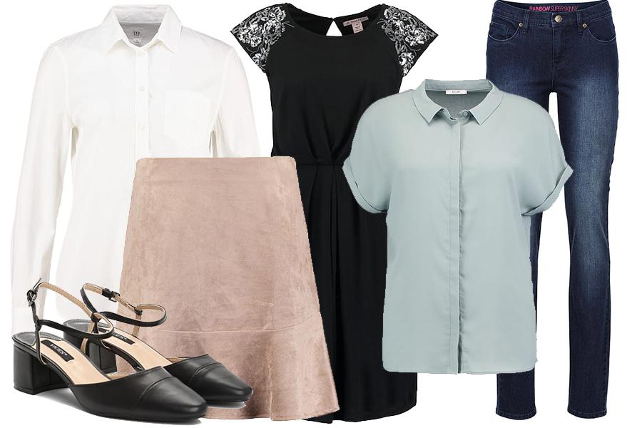 Przykładowe ubrania bazowe
