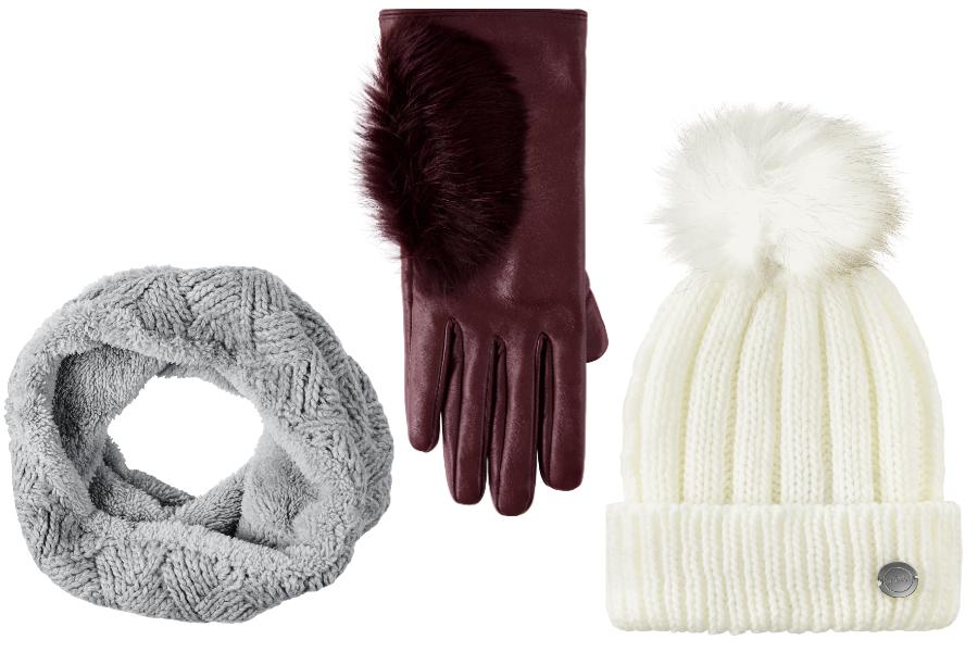 szalik, rękawiczki i czapka JemiołxRossmann