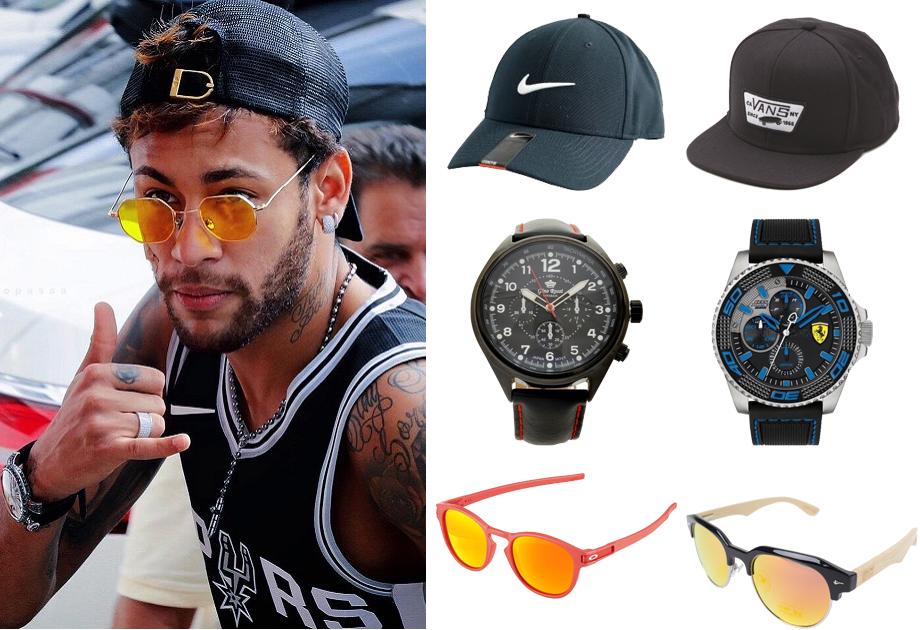 Zegarek, okulary, czapka z daszkiem, czyli ulubione dodatki