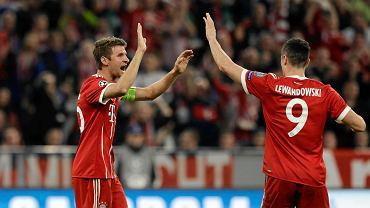Bayern gromi! Tym razem Roberta Lewandowskiego wyręczali koledzy