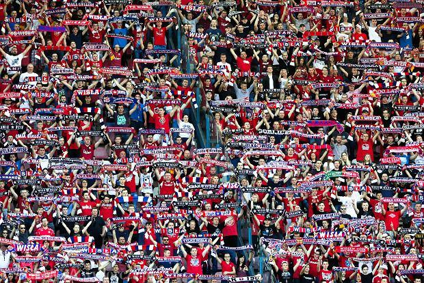 22.04.2018 Krakow , Stadion Miejski . Kibice . Mecz Ekstraklasy Wisla Krakow - Legia Warszawa . Fot. Jakub Porzycki / Agencja Gazeta SLOWA KLUCZOWE: ekstraklasa pilka nozna sport /FR/