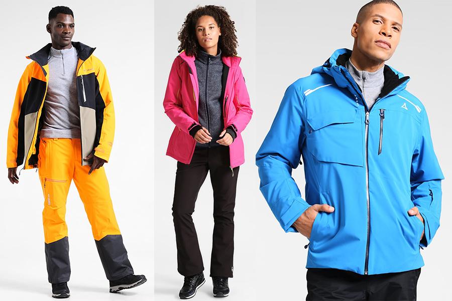 Kurtki, spodnie i kombinezony narciarskie