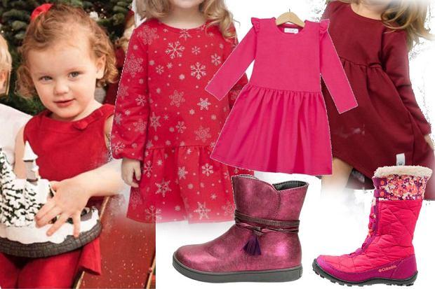 fot. Instastory @royaladdcted2/ sukienka na święta dla dziecka