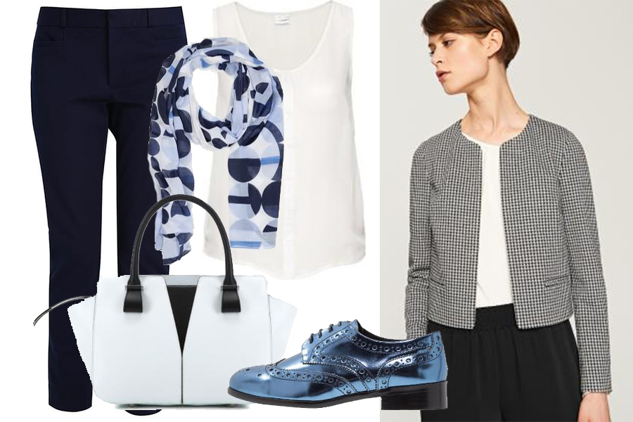 Do eleganckich spodni - oksfordy