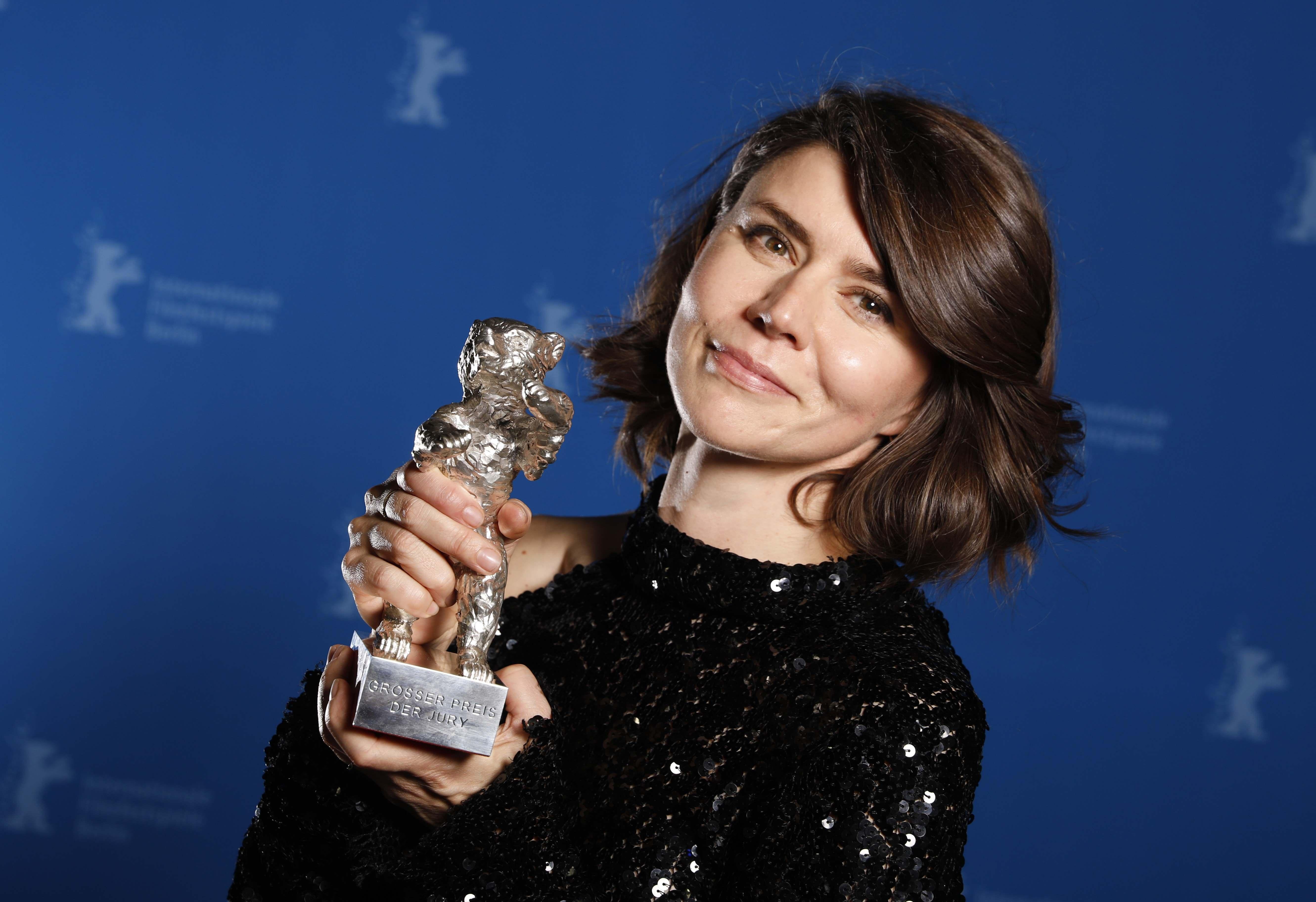 Małgorzata Szumowska ze Srebrnym Niedźwiedziem na 68. Międzynarodowym Festiwalu Filmowym w Berlinie