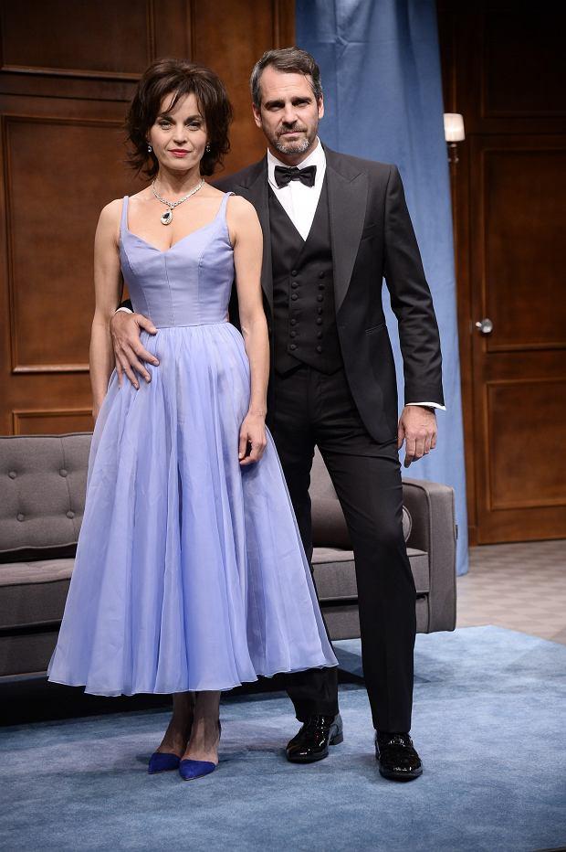 PHOTO: TRICOLORS/EAST NEWS   WARSZAWA. 06.09.2016   Byc jak Elizabeth Taylor - proba w teatrze IMKA   N/Z: MALGORZATA FOREMNIAK PAWEL DELAG